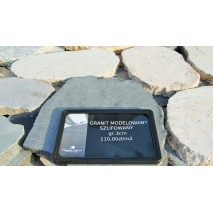 Granit modelowany, szlifowany